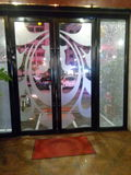 冰裂玻璃门